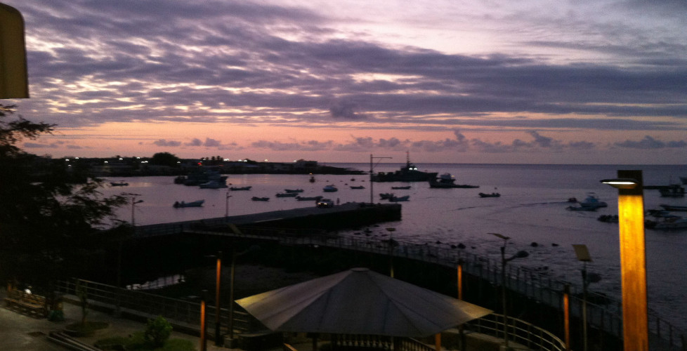 Galapagos Sunset Hotel View