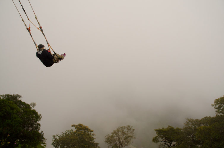 Swinging High in Ecuador