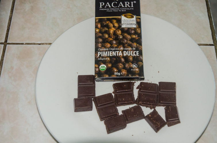 Allspice flavored Chocolate from Pacari