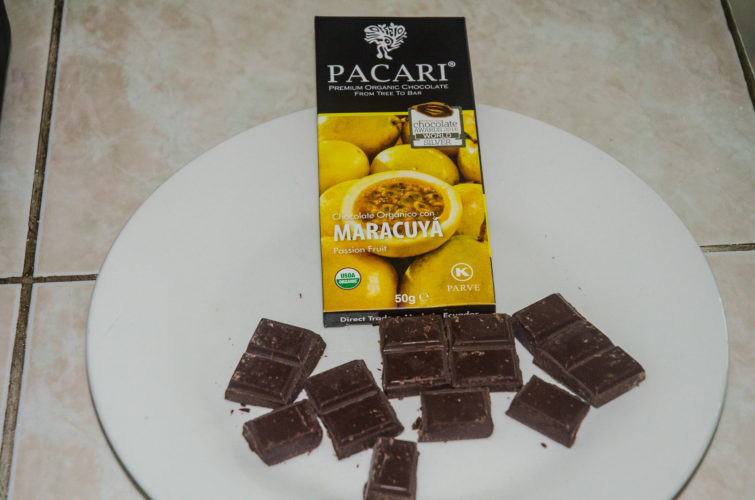 Passion Fruit flavor Pacari Chocolate