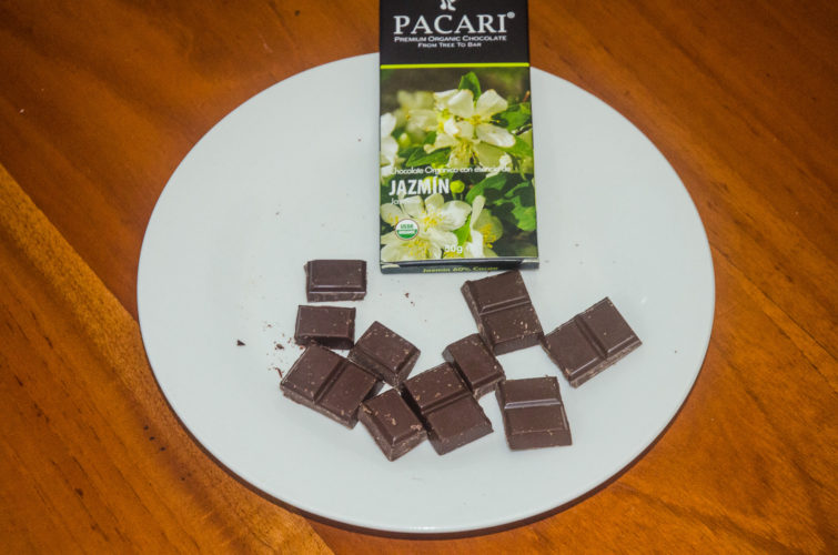 Pacari Jasmine Chocolate Bar