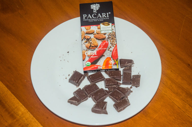 Hot Chilli Peppers and Pacari Chocolate