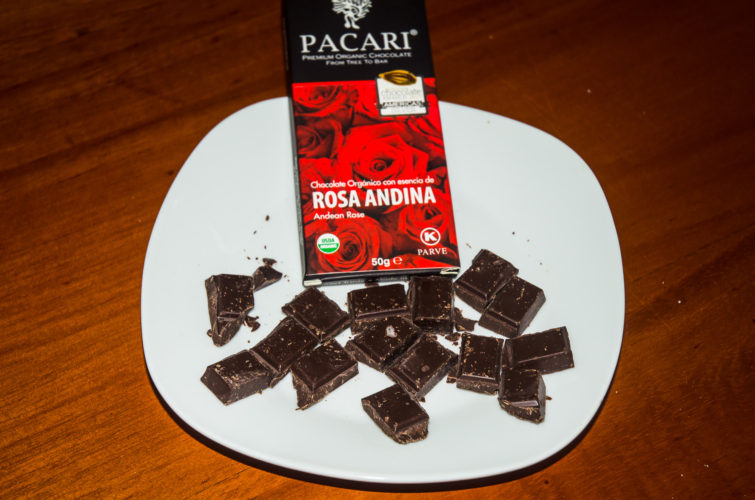 Andean Rose flavor Chocolate from Pacari