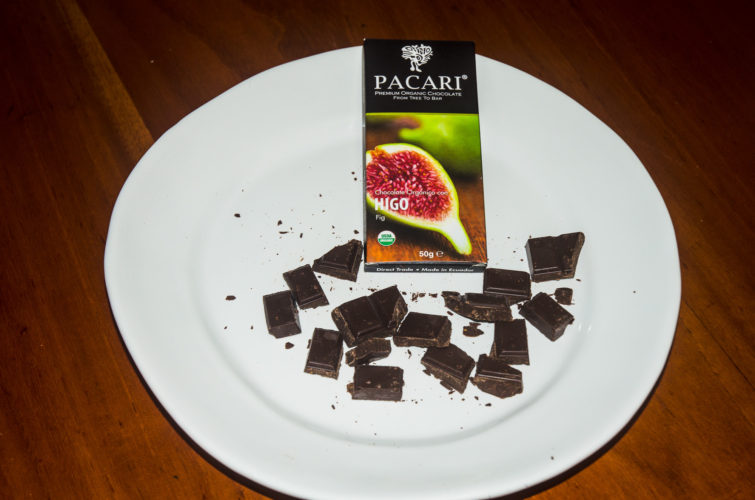 Pacari Fig flavor Chocolate