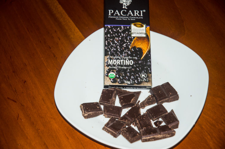 Pacari Chocolate with Andean Blueberry