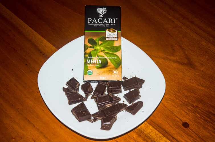Andean Mint flavor Pacari Chocolate