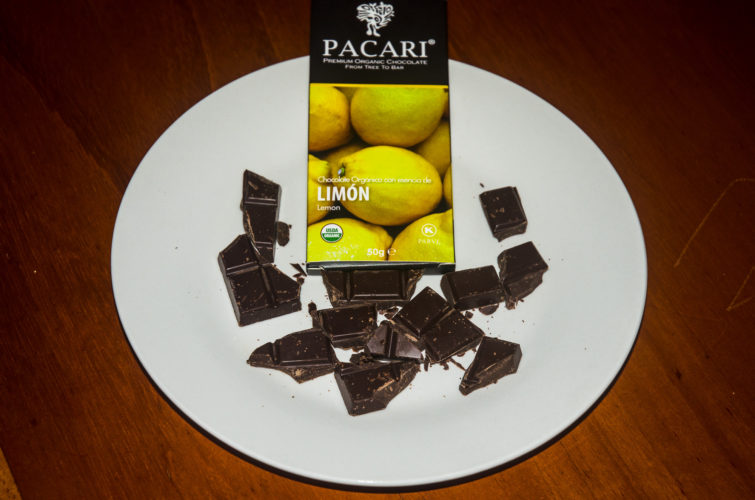 Pacari Chocolate with Lemon