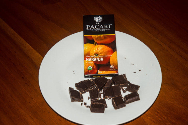 Chocolate Orange flavor from Pacari