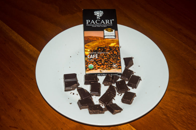 Coffee Flavor Chocolate from Pacari