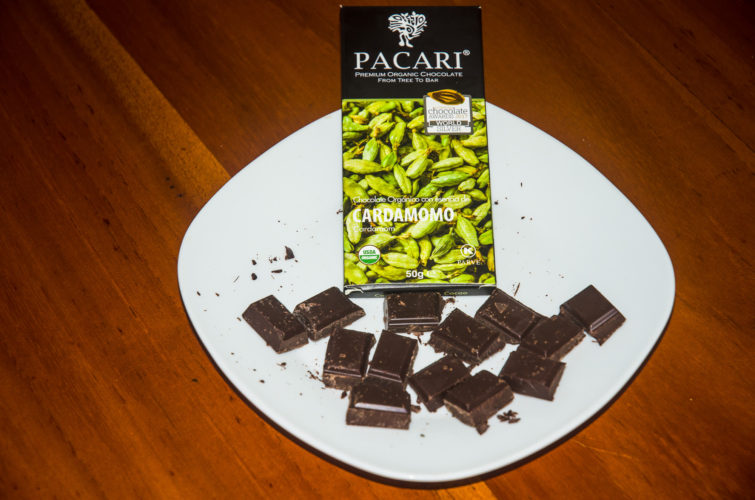 Pacari Chocolate with Cardamom