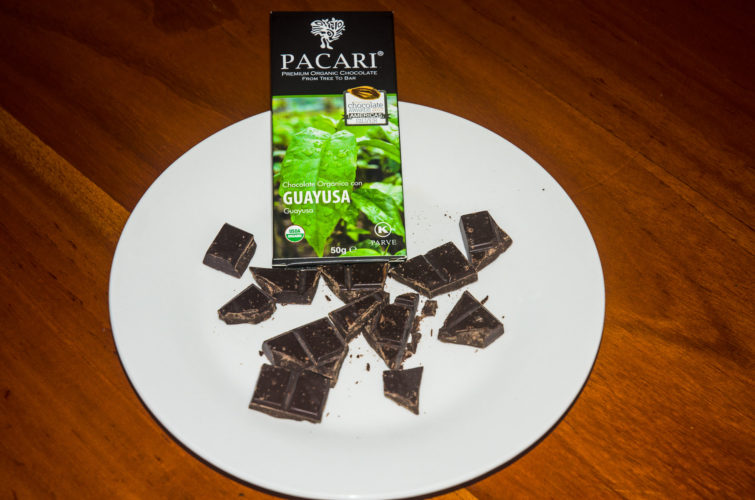 Guayusa flavor Pacari Chocolate from Ecuador