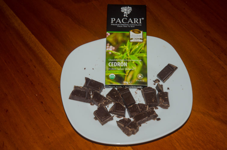 Andean Lemon Verbena flavor Chocolate from Pacari