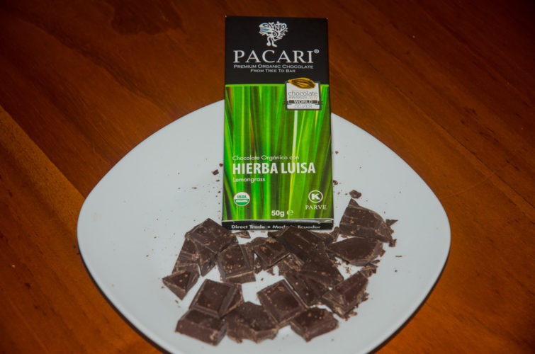 Pacari Chocolate with Lemongrass