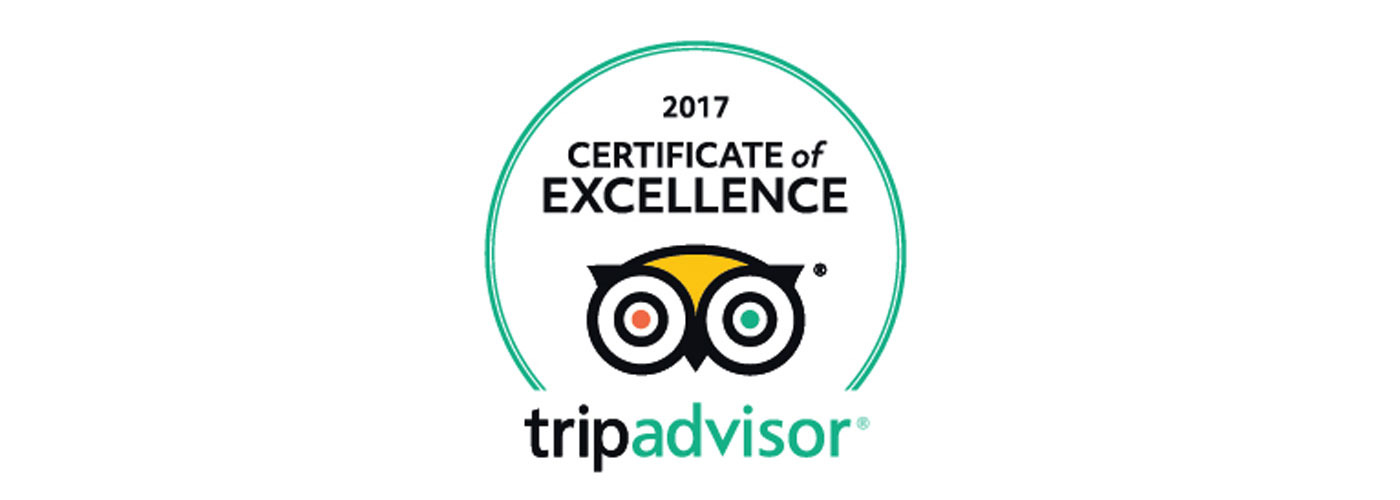 Galakiwi TripAdvisor Certificate of Excellence