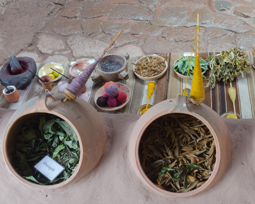 traditional dye ingredients