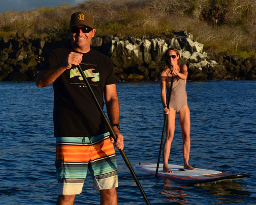 Stand up Paddle Boarding in the Galapagos