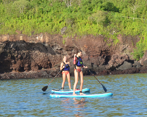 Stand up Paddle Boarding in Galapagos