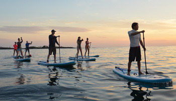 Paddle Boarding Tour in Galapagos